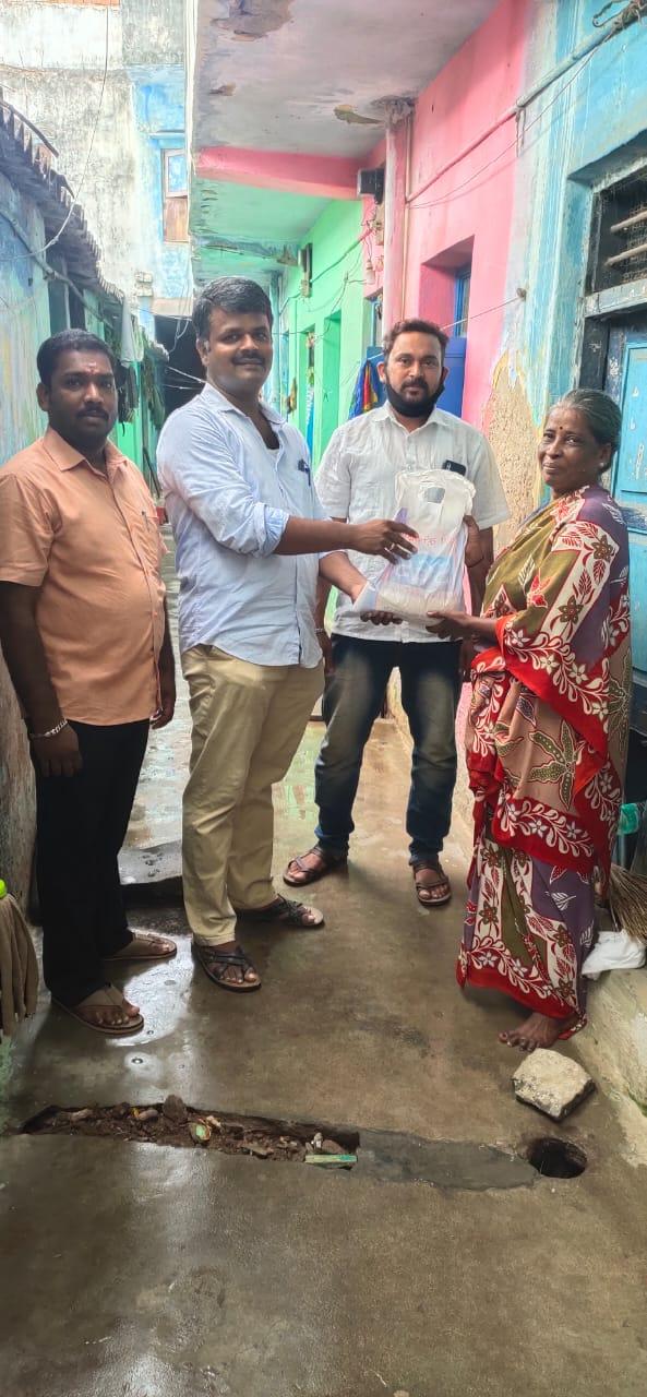 கொரோனா தடைக்காலம் நிவாரணப் பணி