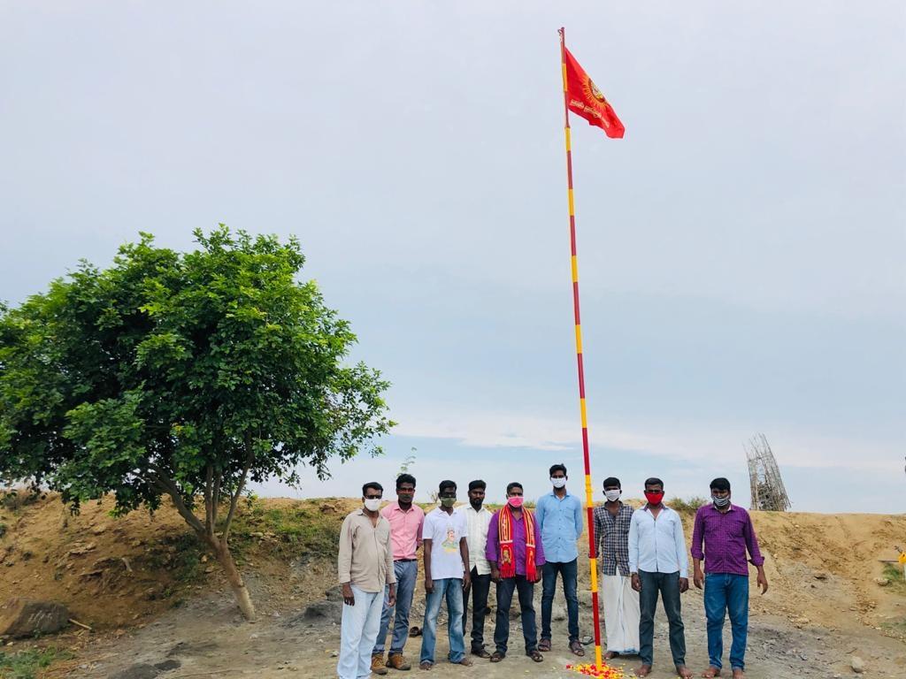 கபசுர குடிநீர் வழங்கும் நிகழ்வு -  அம்பத்தூர்
