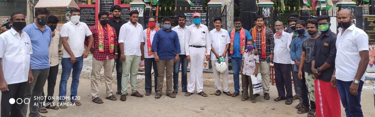பொது மக்களுக்கு கபசுர குடிநீர் வழங்குதல் - கிள்ளியூர்