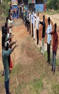 கபசுர குடிநீர் வழங்கும் நிகழ்வு - கன்னியாகுமரி