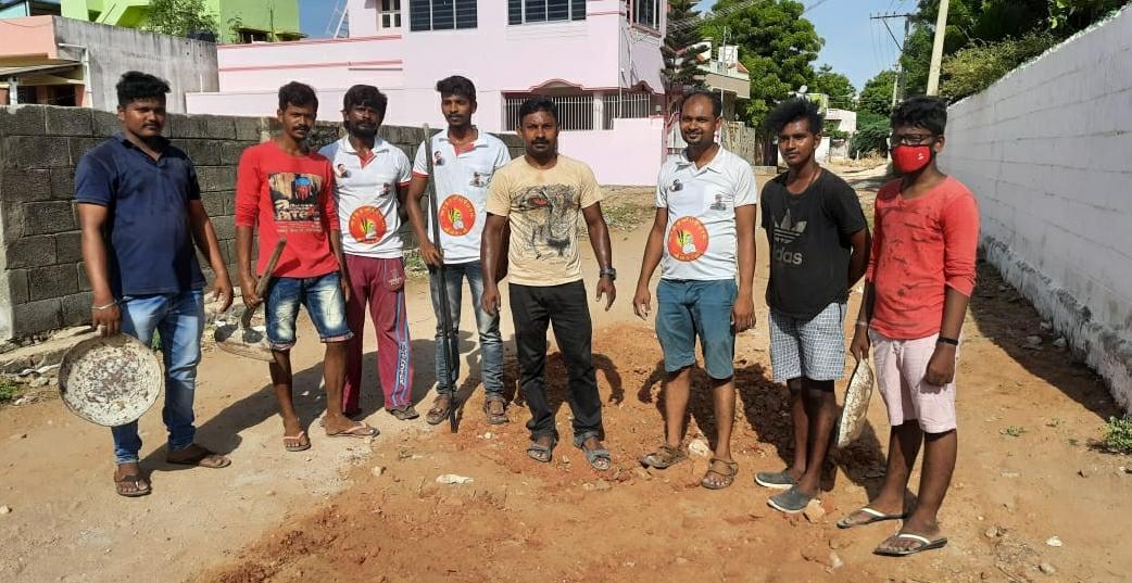 கபசுர குடிநீர் வழங்கும் நிகழ்வு - குளச்சல்