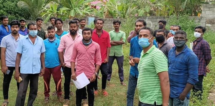 கபசுரகுடிநீர் வழங்கும் நிகழ்வு - சிதம்பரம் சட்டமன்றத் தொகுதி
