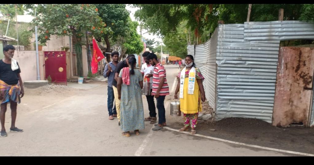 கபசுர குடிநீர் மற்றும் முககவசம் வழக்கும் நிகழ்வு - கூடலூர்