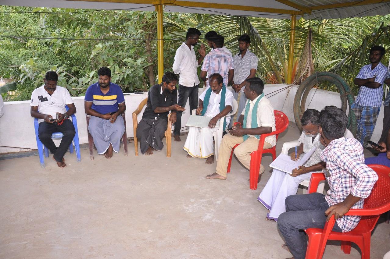 குருதி கொடை வழங்கும் நிகழ்வு - ஒட்டன்சத்திரம்