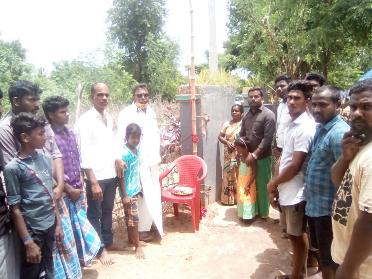 புலிக் கொடியேற்ற நிகழ்வு - திருவாரூர்