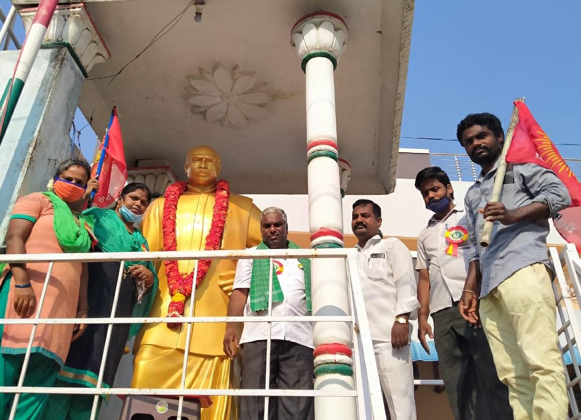 ஆலந்தூர - பெருந்தலைவர் காமராசர்  புகழ்வணக்க நிகழ்வு