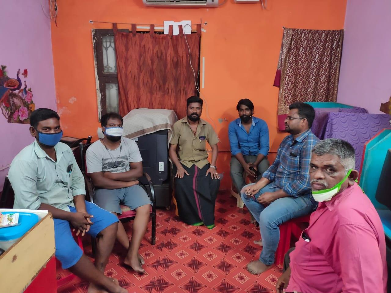 ஆவடி  -  பொறுப்பாளர்கள்  கலந்தாய்வு கூட்டம்