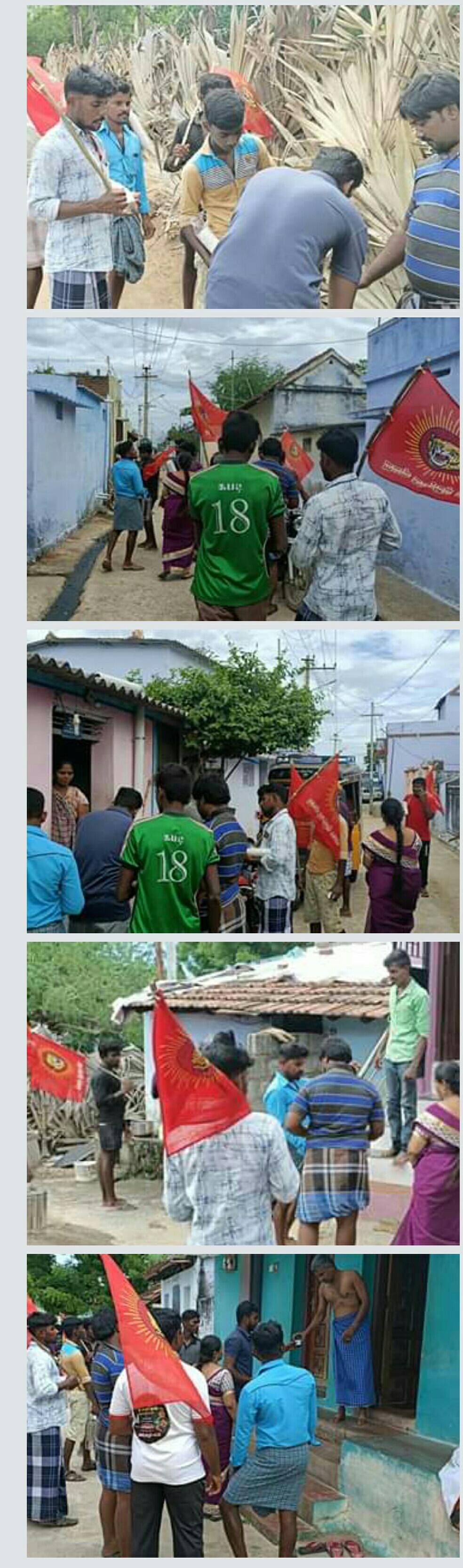 கப சுர குடிநீர் வழங்கும் நிகழ்வு - ஓமநல்லூர்