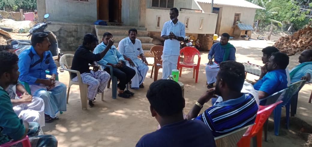 திருவாடானை  தொகுதி - தேர்தல் கலந்தாய்வு கூட்டம்