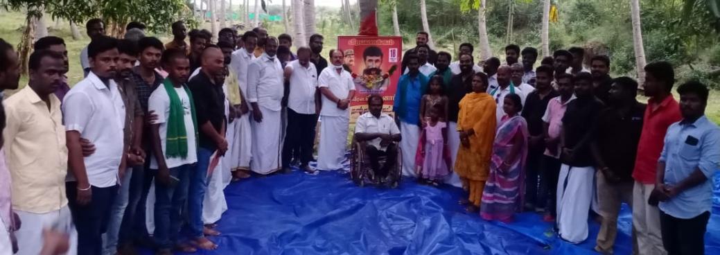 திருப்பத்தூர் தொகுதி - புதிய பொறுப்பாளர்கள் அறிமுக கூட்டம்