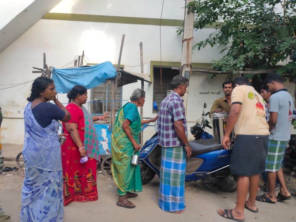 கபசுரகுடிநீர் வழங்கும் நிகழ்வு - சிவகாசி